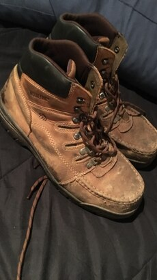 Steel Toed Wolverine Boots size 11