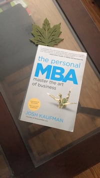 The personal MBA josh Kaufman book Clarksburg, 20871