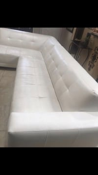 White leather sectional  El Paso, 79936