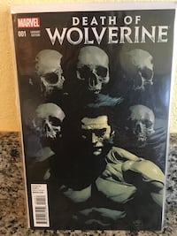 Death of Wolverine 1 Variant  Killeen, 76543