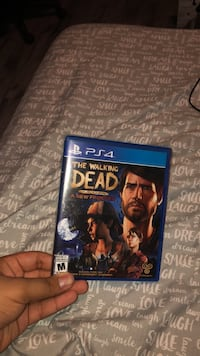 Sony Ps4 The Walking Dead A New Frontier disc and case Surrey, V3X 3S5