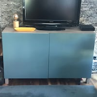 IKEA Besta Cabinet Hutch Sideboard TV Stand like new