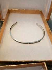 Mother daughter inspiration bangle