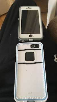 White life proof iPhone 6 case. Like new
