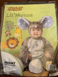 Halloween mouse costume 0-6 months  Washington, 20019