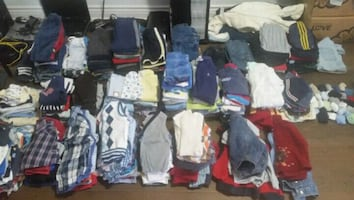 assorted boys clothes lot