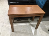 rectangular brown wooden coffee table Woodbridge, 22193