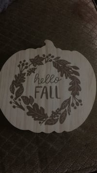 Hand decorated wooden pumpkin fall decor Phoenix, 85017