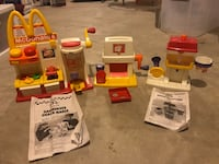 Vintage McDonald's happy meal maker Round Hill, 20141