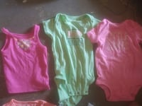 girl's three assorted onesies Kitchener, N2P 1A1