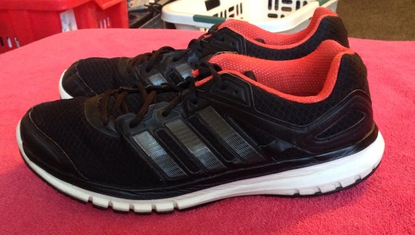 fc080904cb02 Used Men s Adidas Adiprene Duramo 6 Red Black Running Shoes Size 13 Good  Condition for sale in Douglasville