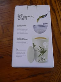 Tea brewing system by Kati $10