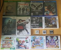 video games nintendo 3ds, wii, xbox one, ps4 Burnaby