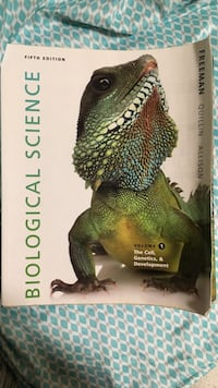Biological Science Fifth Edition by Freeman Quillin Asilon book Bakersfield, 93311