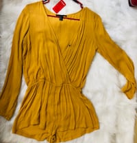 Forever 21 yellow romper Bakersfield, 93309