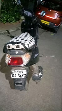 black and white motor scooter Thane, 400610
