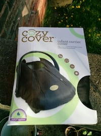 black Cozy Cover infant carrier cover box Cohoes, 12047