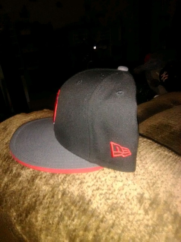 97bfe18438811 Used black and red New York Yankees cap for sale in Staten Island ...