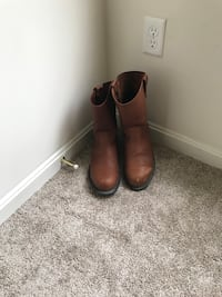 Brown size 12 pull on work boots (Steeled Toed Boots) worn 3 times! Frederick, 21703