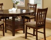 Espresso Table and 4 Chairs Gastonia