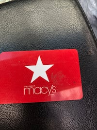 There's $80 on this Macy's card for $40! Serious buyers only!  Hollywood, 33023