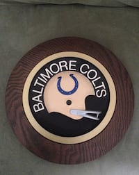 Baltimore Colts 1970's Wall Plaque Catonsville, 21228