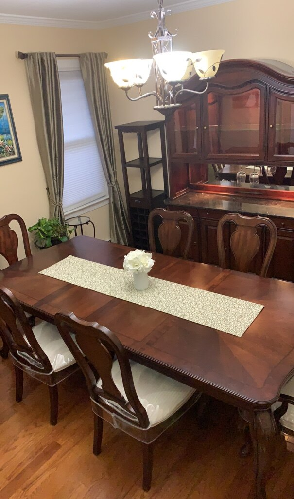 Victorian Dining Room Table U0026 Chairs