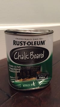 Chalkboard paint in black finish - 90% left Washington, 20002