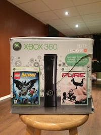 Xbox 360 elite black 120gb