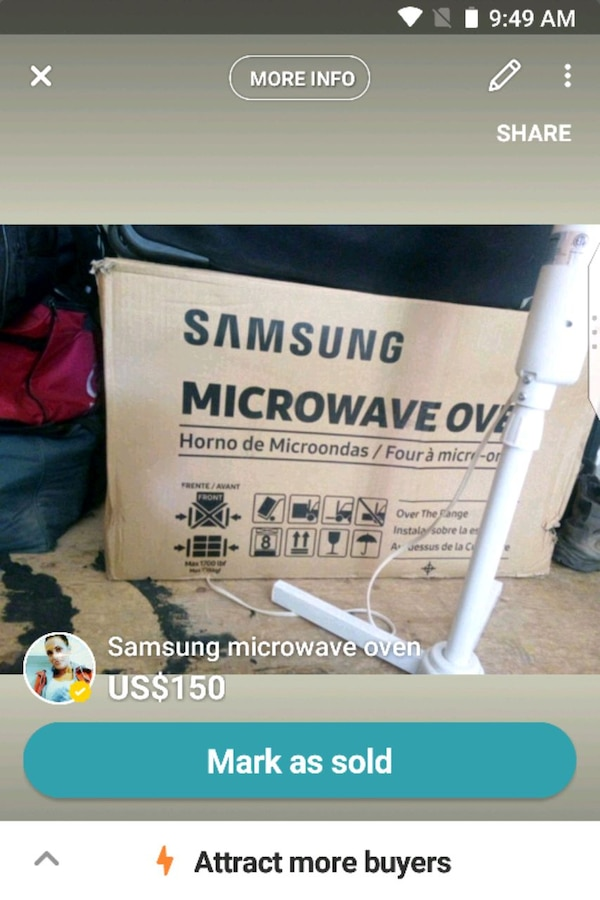 Samsung microwave oven 1