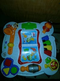Leap Frog Learning Activity Table