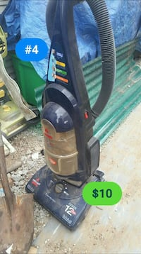 black and blue Bissell upright vacuum cleaner Tulsa, 74115
