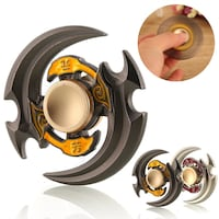 Alloy Hand Spinner Tri Fidget Focus Toy EDC Newest Finger Spin Gyro ADHD &Autism London