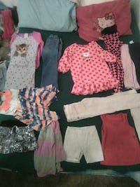 girl's assorted clothes 2183 mi