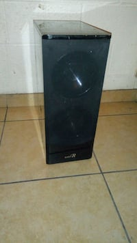 black and gray home theater speaker Las Vegas, 89119