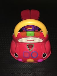 red and yellow Little Tikes cozy coupe Vaughan