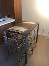 """42"""" High dining table"""