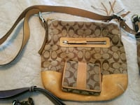 Coach purse and wallet Wellington