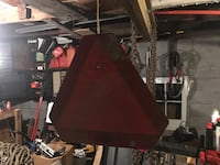 black and red table lamp Barberton, 44203