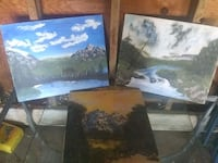 Beautiful paintings 3 for $15 Monona, 53714