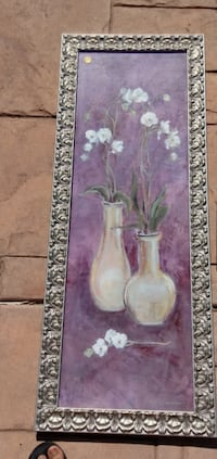 White Orchid painting Encinitas