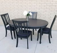 BLACK SHABBY CHIC TABLE ???? cheap delivery!  Frisco, 75034