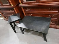 Small black coffee and end table Mooresville