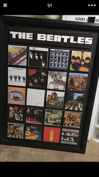The Beatles assorted album sleeves with frame Marysville, 95901