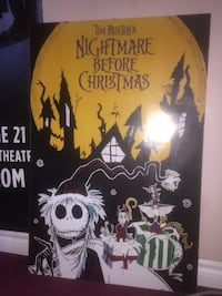 Nightmare before Christmas poster  Mississauga, L5N 5E3