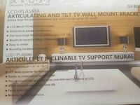 LCD / Plasma articulating and tilt tv wall mount  Mississauga, L5A 4C5