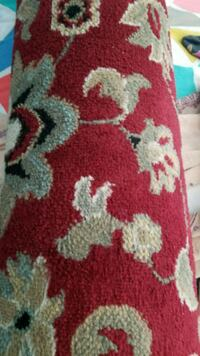 3 piece rug one small one big and one runner Bristow