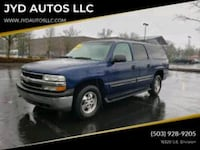 2002 Chevrolet Suburban 4x4 3rd Row Seating Strong Portland, 97236