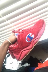 Red suede Champions Fort Walton Beach, 32548