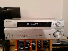 Pioneer 5.1 Home Theater Receiver with Subwoofer